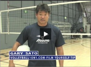 Gary Sato Volleyball Film Yourself