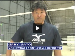 Gary Sato Volleyball Libero