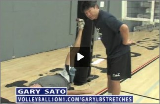Gary Sato Volleyball Lower Back Stretches and Injury Prevention