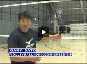 Gary Sato Volleyball Speed of the Game