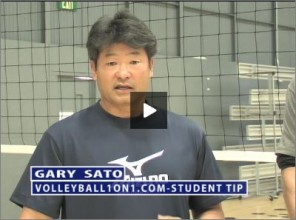 Gary Sato Volleyball Student of the Game