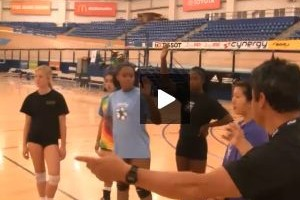 Get on the Bus Youth and Beginners Volleyball Rotation Drill by Gary Sato