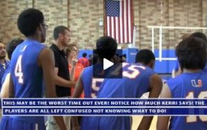 Good Time Out Speech Verse a Bad Time Out Speech When Coaching Youth Volleyball