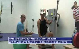 Half-Kneeling-Rotational-Chop-Exercise-for-Volleyball-Training-with-Eric-Ilgenfritz