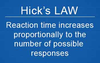 Hicks-Law and Reaction Time As it Relates to Volleyball