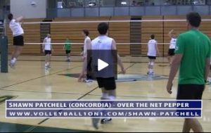 Important Tips for Over the Net Pepper with Concordia and Coach Shawn Patchell