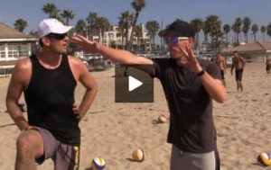 Jason Lockhead Beach Volleyball Blocking Tips - Pushing with Non Dominant Hand, What to Do