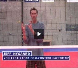 Jeff Nygaard Volleyball Control Factor
