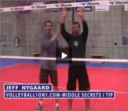 Jeff Nygaard Volleyball Middle Blocking Secret I