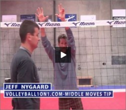 Jeff Nygaard Volleyball Middle Moves