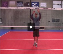 Jeff Nygaard Volleyball Transition Footwork I