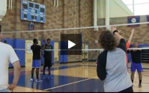 Kerri Third Drill - Hitters vs. Defenders , 6 on 6 - Day 1