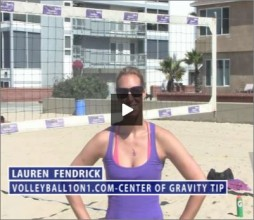 Lauren Fendrick Beach Volleyball Center of Gravity