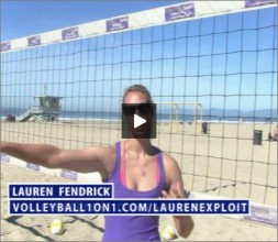 Lauren Fendrick Beach Volleyball Exploit