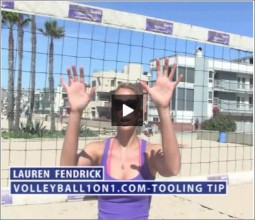 Lauren Fendrick Beach Volleyball Tooling