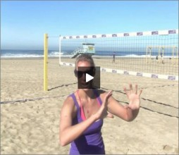 Lauren Fendrick Beach Volleyball Transition
