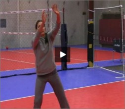 Logan Tom Volleyball Defending Different Shots