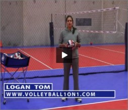 Logan Tom Volleyball Jump Serve