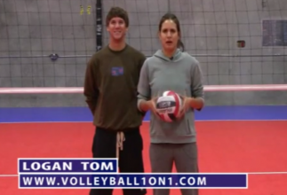 Logan Tom Volleyball Passing Drills