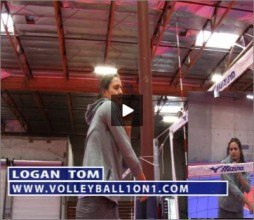Logan Tom Volleyball Spiking Line