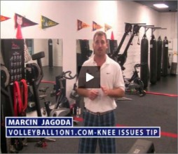 Marcin Jagoda Volleyball Knee Issues