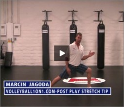 Marcin Jagoda Volleyball Post Play Stretch
