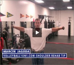 Marcin Jagoda Volleyball Shoulder Rehab