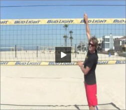 Matt Fuerbringer Beach Volleyball Blocking Drill I