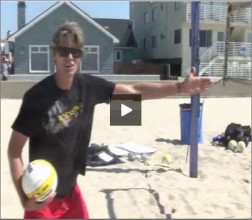 Matt Fuerbringer Beach Volleyball Passing