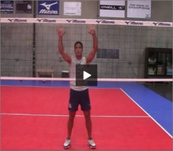 Mike Diehl Volleyball Blocking Position Four Part II