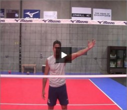 Mike Diehl Volleyball Blocking Position Four Part III