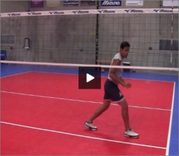 Mike Diehl Volleyball Blocking Position Four Part VI