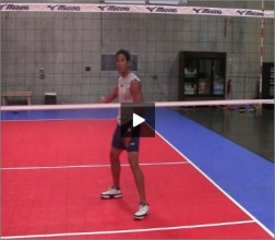 Mike Diehl Volleyball Blocking Position Four Part VIII