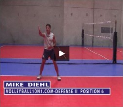 Mike Diehl Volleyball Defense Part II