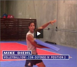 Mike Diehl Volleyball Defense Part IV