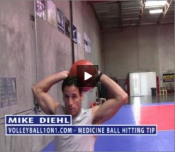 Mike Diehl Volleyball Hitting Power