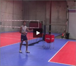 Mike Diehl Volleyball Jump Float Serve
