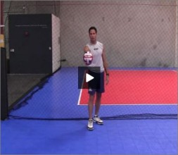 Mike Diehl Volleyball Jump Serve