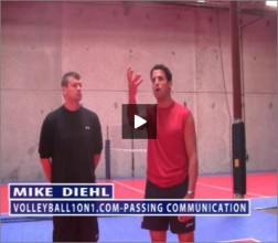 Mike Diehl Volleyball Passing Communication
