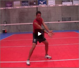 Mike Diehl Volleyball Passing Footwork