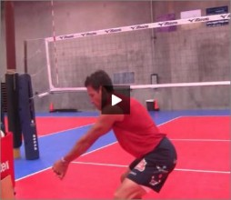 Mike Diehl Volleyball Passing Hips And Legs
