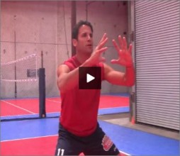 Mike Diehl Volleyball Passing Overhand