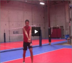 Mike Diehl Volleyball Transition Bump Set