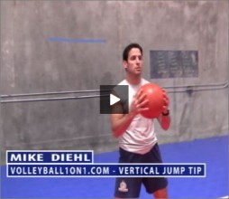 Mike Diehl Volleyball Vertical Jump