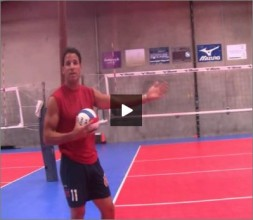 Mike Diehl Volleyball Warm Up Pepper