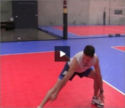Mike Diehl Volleyball Warm Up