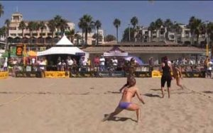 Old School Beach Volleyball Defense - The Art of the Fake