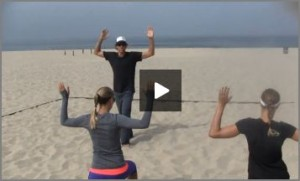 Olympic Beach Volleyball Warm Up