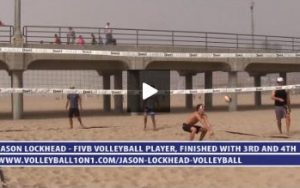 Pass, Set, Cover Hit, Set Hit Warm Up Beach Volleyball Drill with Jason Lockhead