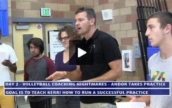 Practice Breakdown and Team Core Values -  Day 2 - Uni High - Volleyball Coaching Nightmares